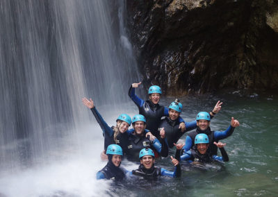 Canyoning groupe Pyrénées 64