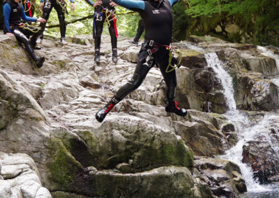 Canyoning initiation Béarn